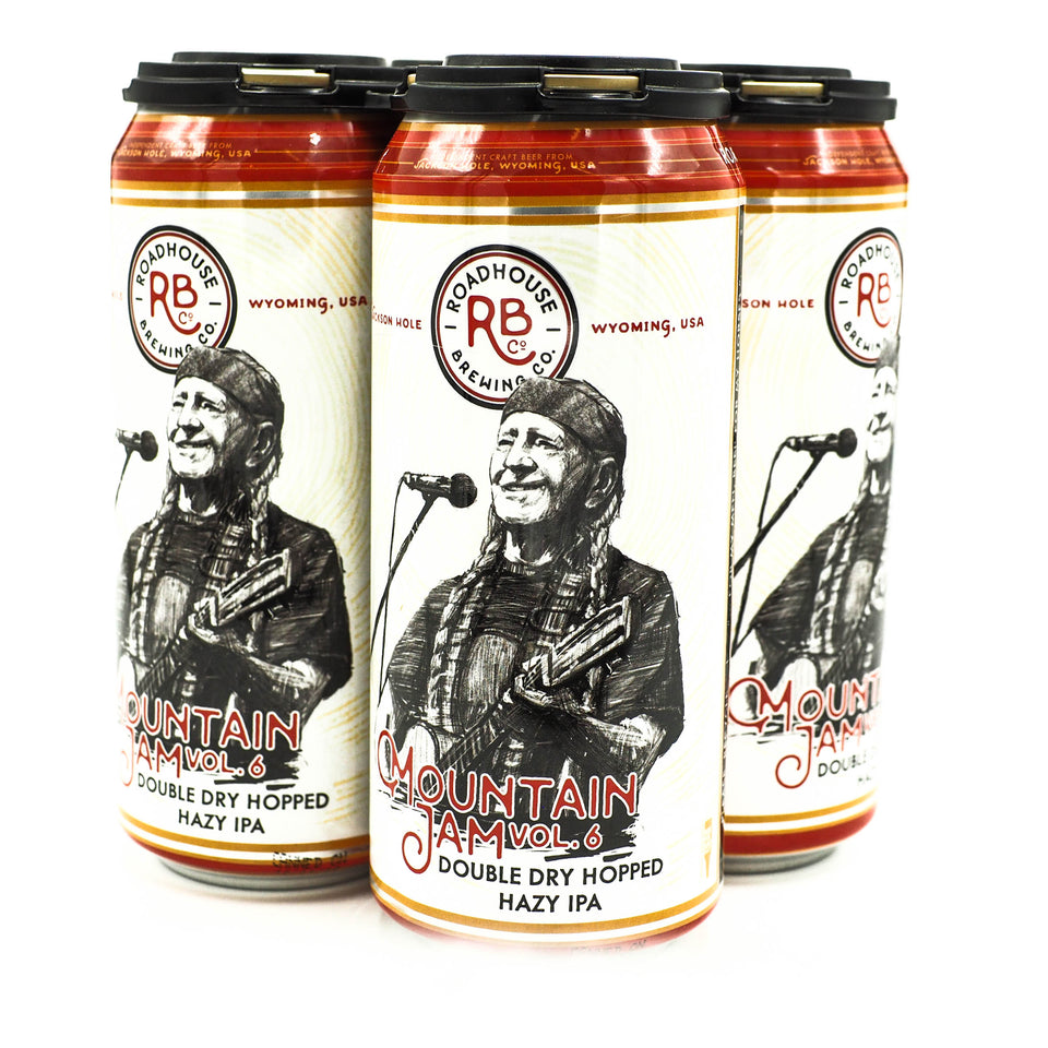 Roadhouse MTN Jam Vol 6 DDH Hazy IPA 4pk