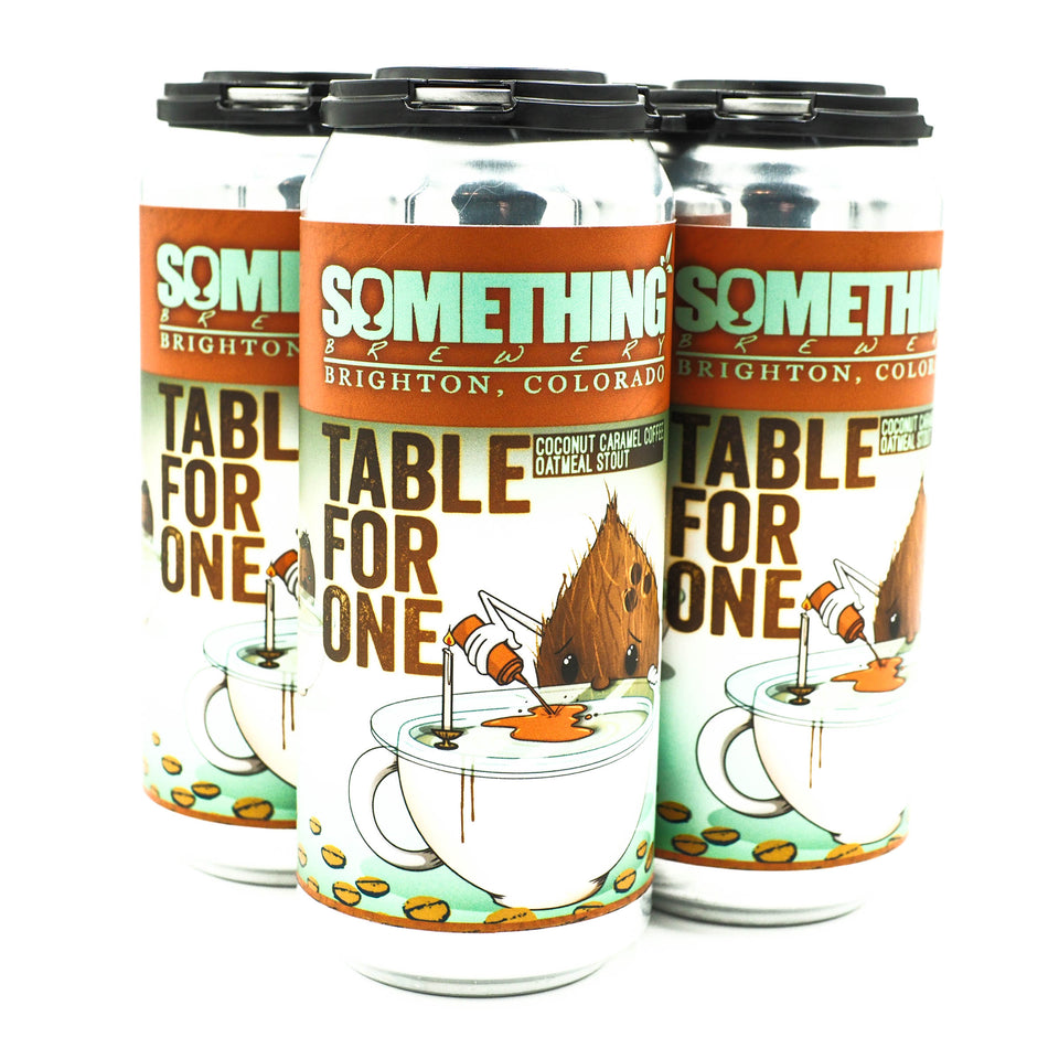 Something Brewery Table for One Coconut Caramel Coffee Stout 4pk