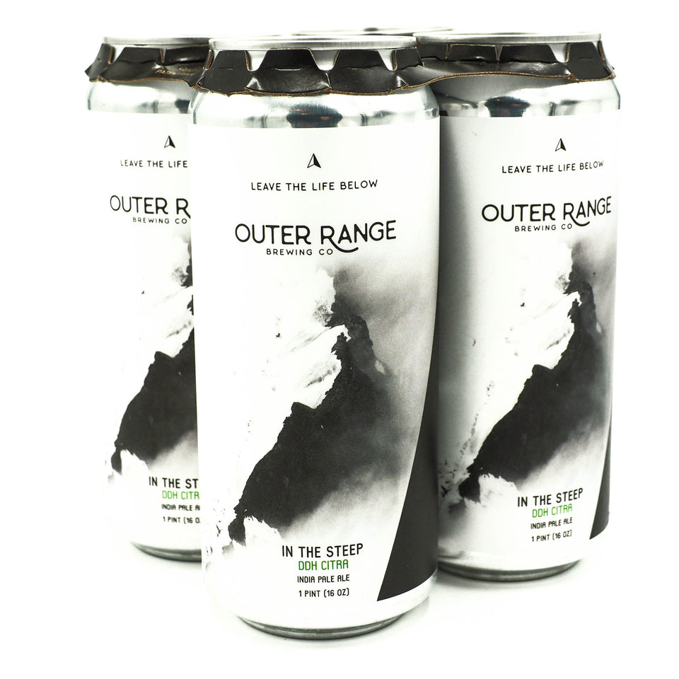 Outer Range In the Steep DDH Citra IPA 4pk
