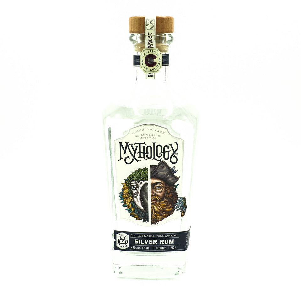 Mythology Feather Jester Silver Rum 750ml