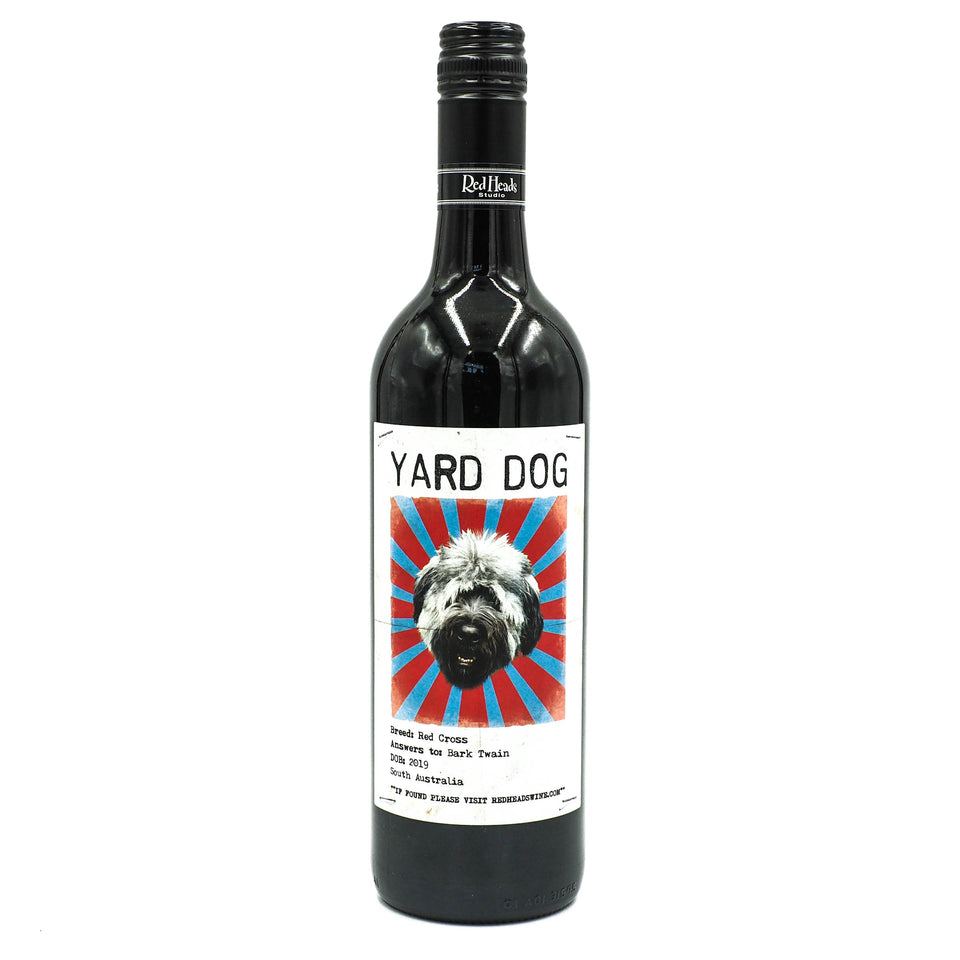 "Red Heads Studio ""Yard Dog"" Red Blend 2019"