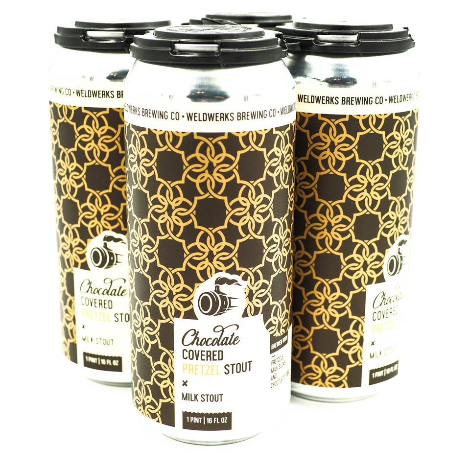 Weldwerks Chocolate Covered Pretzel Stout 4pk