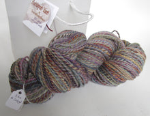 Load image into Gallery viewer, OOAK hand spun yarn - 20-11 earthy rainbow