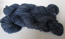 Load image into Gallery viewer, OOAK Handspun Yarn - 20-17 - indigo/denim colors