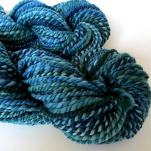 Load image into Gallery viewer, OOAK Handspun Yarn - 20-33 Dark Turquoise