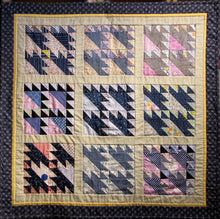 "Load image into Gallery viewer, ""Four Crowns"" Quilt"