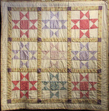 "Load image into Gallery viewer, ""Ohio Star"" Quilt"