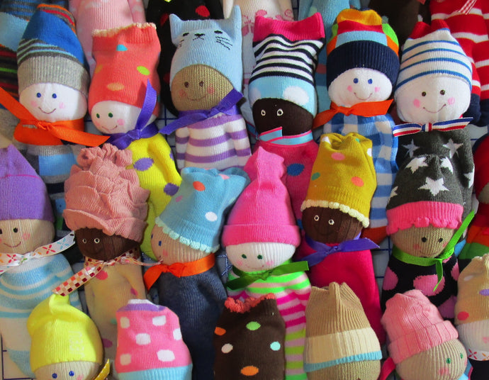Sock Dolls - cheerful companions...more