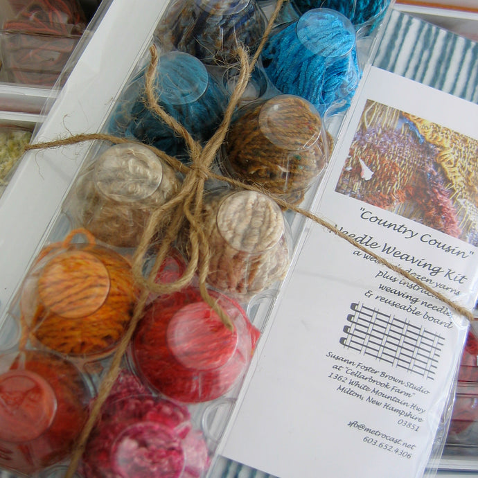 Country Cousin Weaving Kits...more