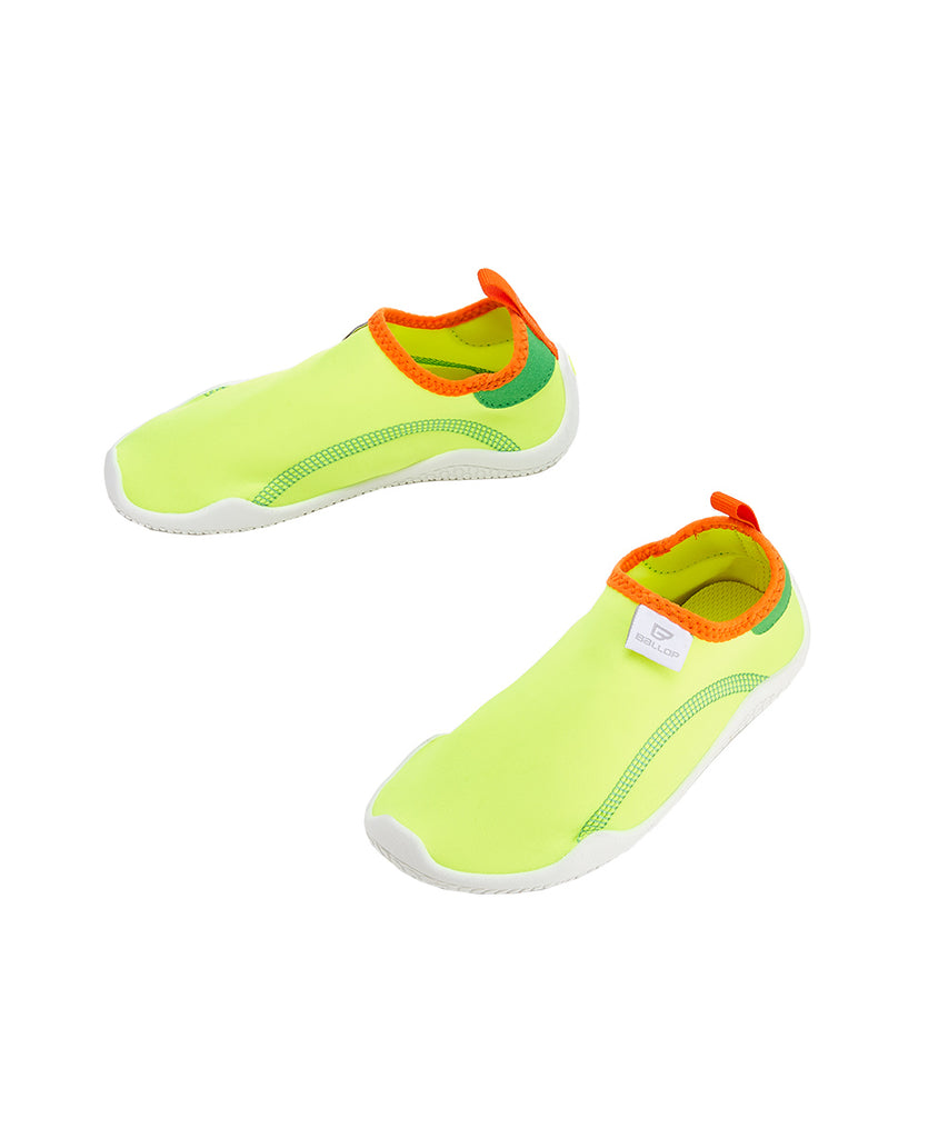 Ballop aqua shoes,  Base kids, neon green