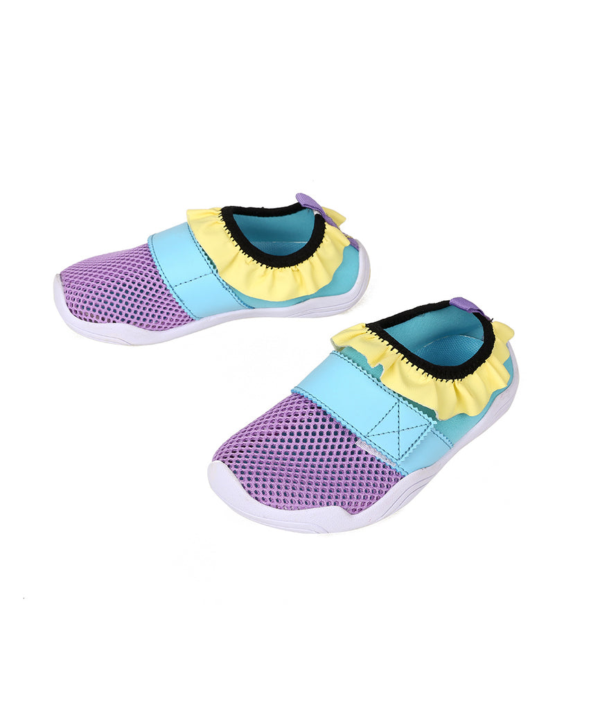 Ballop aqua shoes, princess kids, purple
