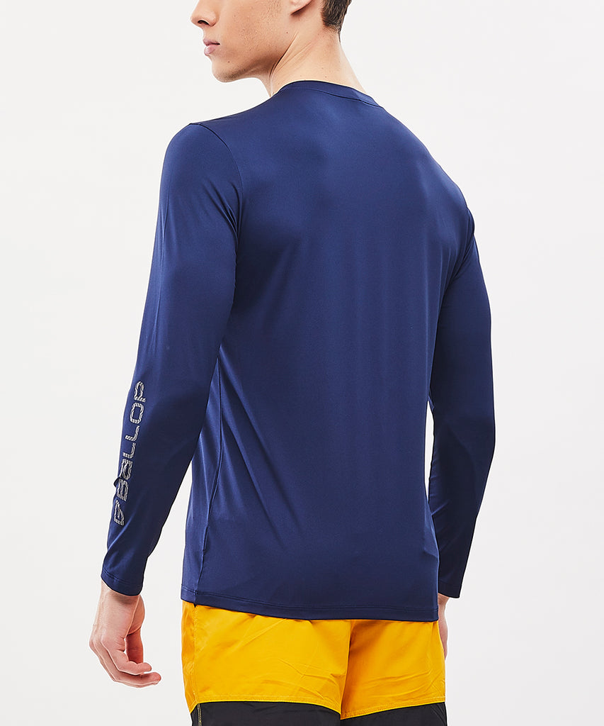 MEN'S RASHGUARD BLADE NAVY