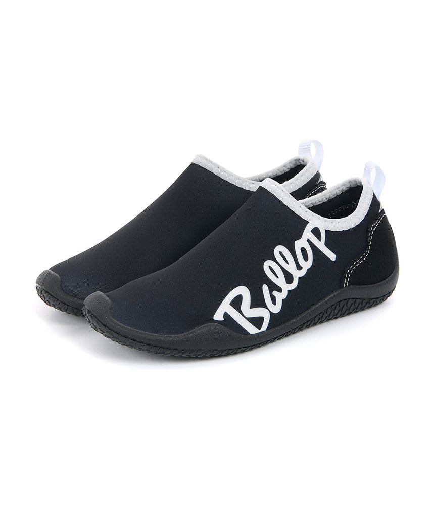 Ballop aqua shoes, Lettering kids, black
