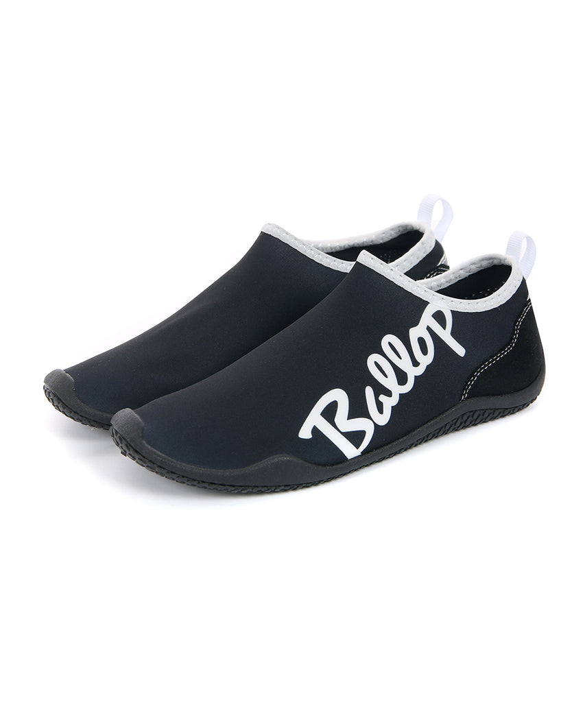 Ballop aqua shoes, Lettering black