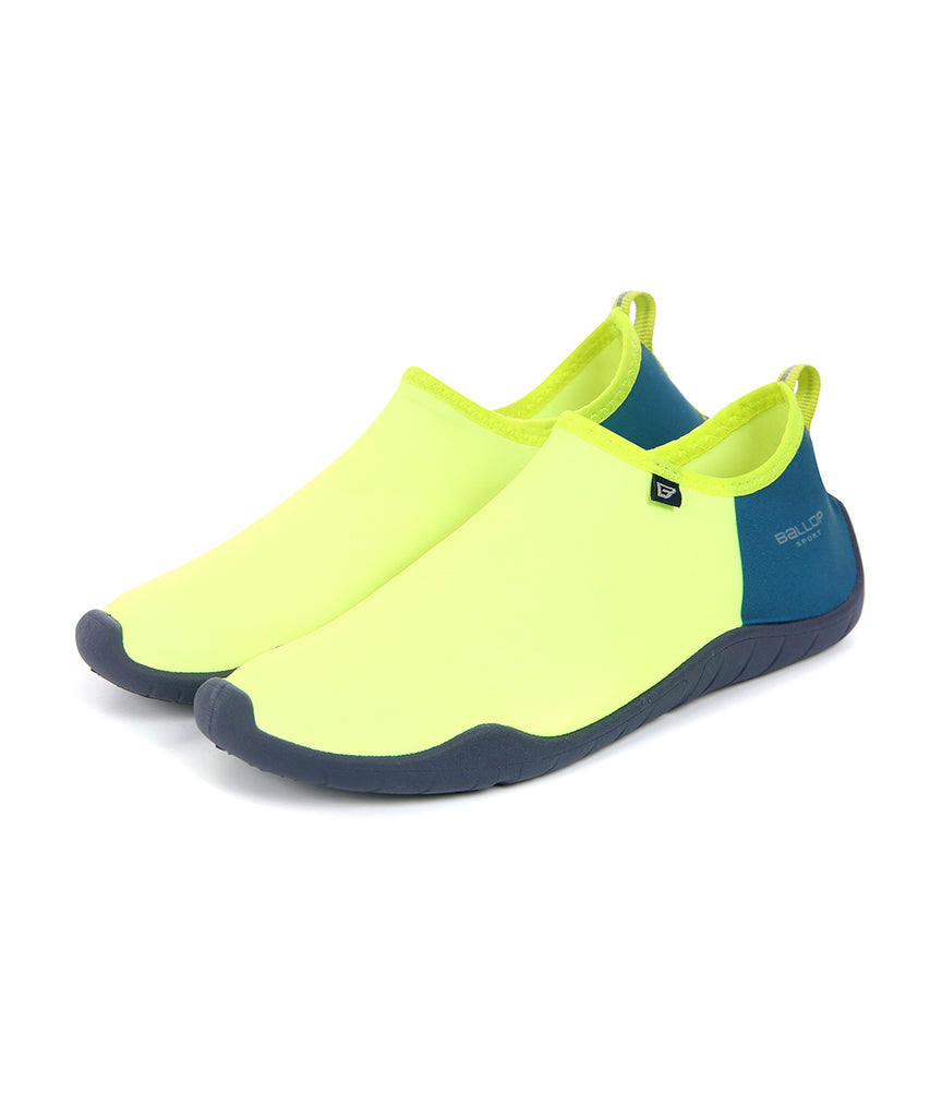 Ballop aqua shoes, Block neon-green