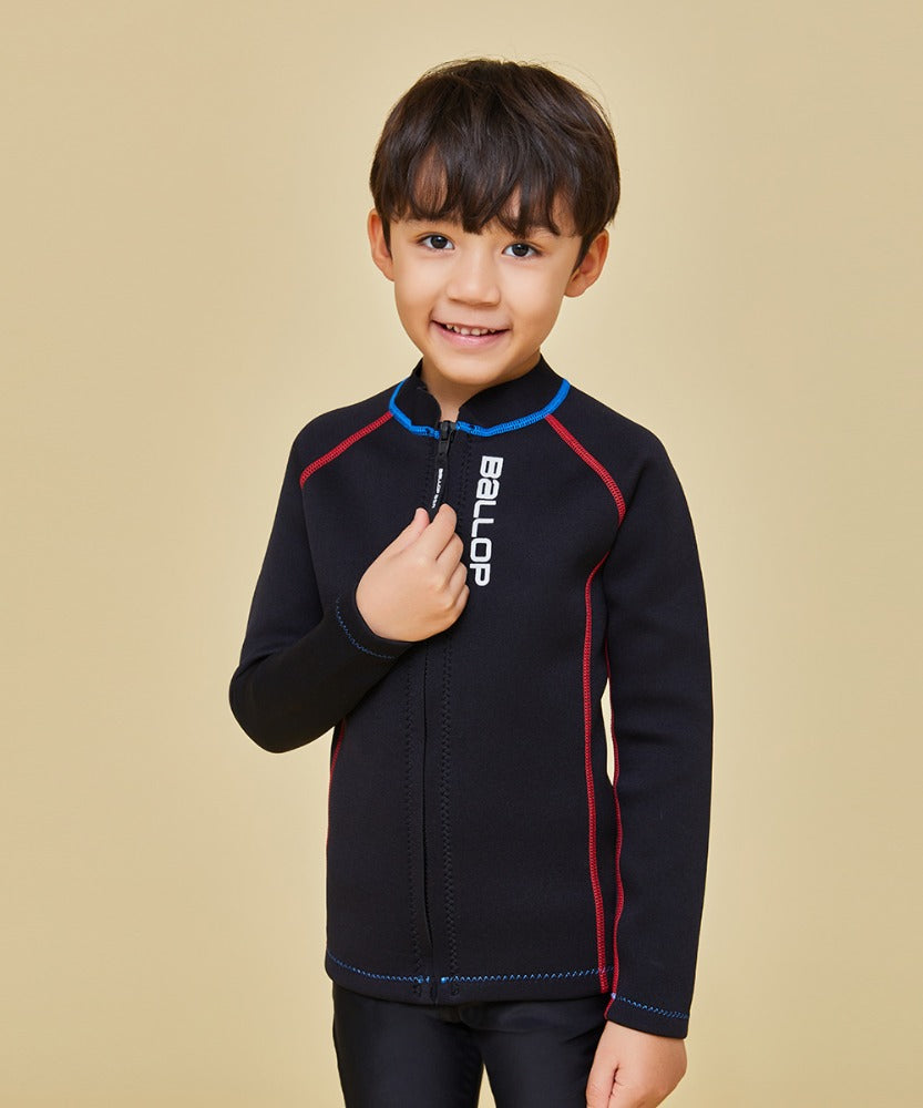 KIDS SWIM JACKET BLACK