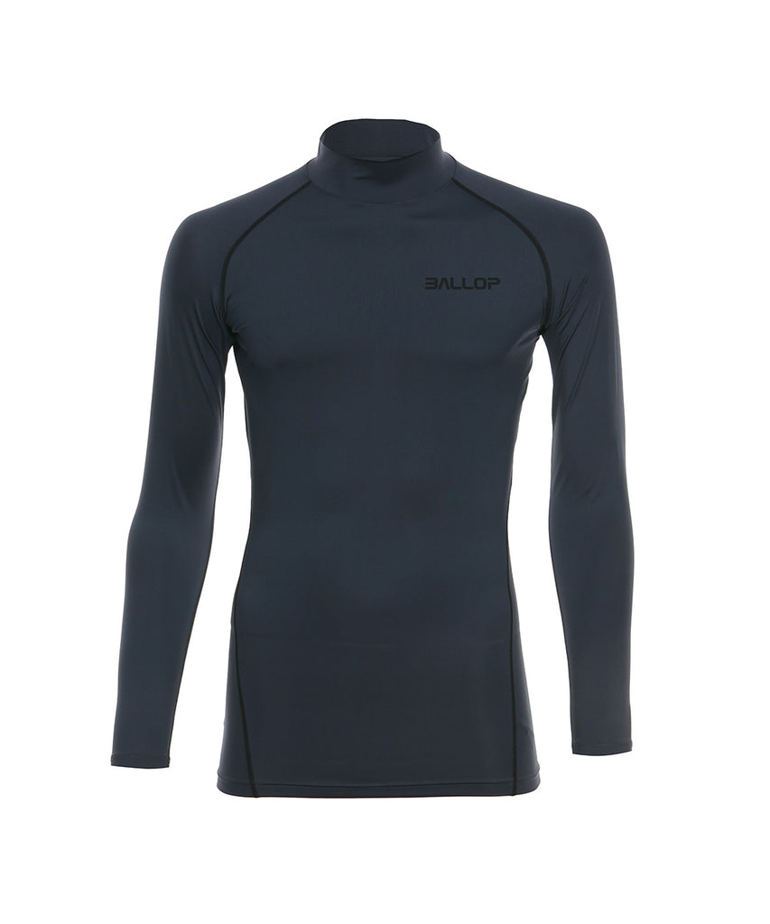 TECHFIT UNDER LAYER NECK GRAY
