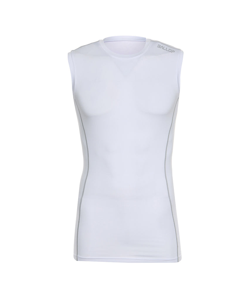 TECHFIT UNDER LAYER TANK TOP WHITE