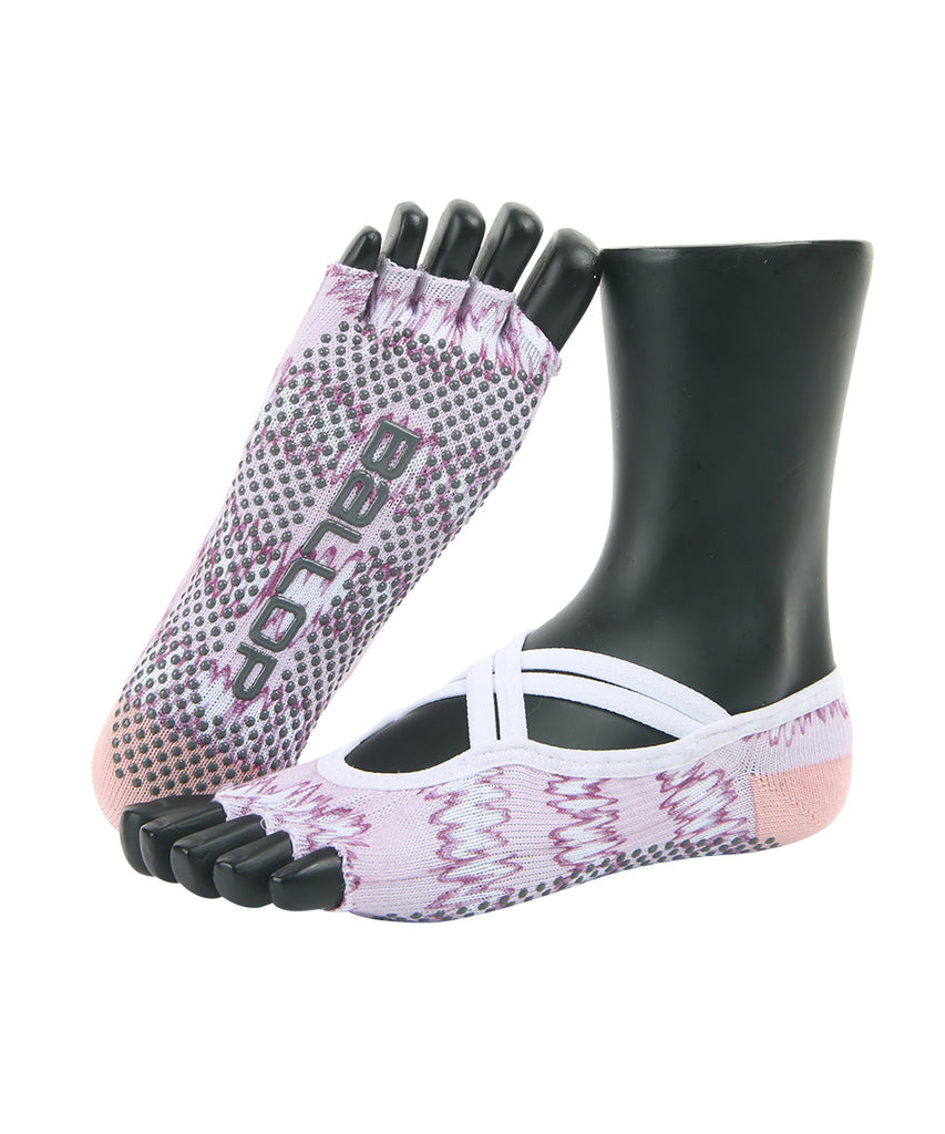 JAM SOCKS YOGA SHOES JESSICA, PINK