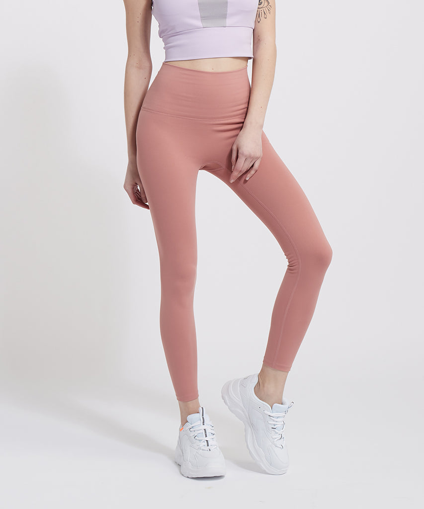 SIGNATURE YOGA OUTFITS 9 LEGGINGS, PINK