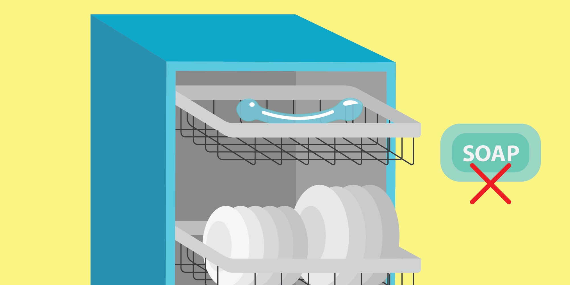It is safe to deep clean your glass sex toys in the dishwasher.