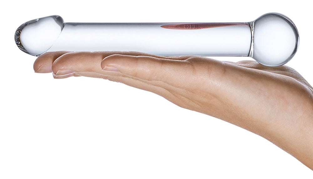 Textures of Glass Dildos and Anal Toys - Smooth