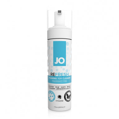 System JO Refresh Fragrance-Free Foaming Toy Cleaner (Seven Ounces) - Gläs