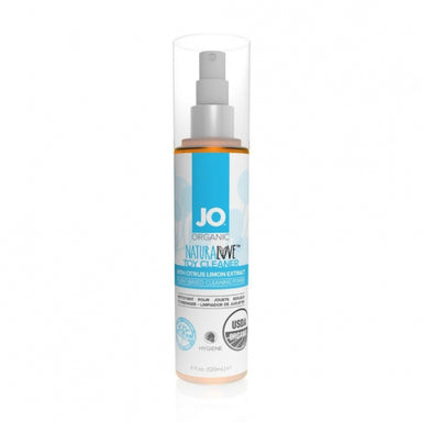 System JO Hygiene USDA Certified Organic Fragrance Free Toy Cleaner (Four FLOZ) - Gläs