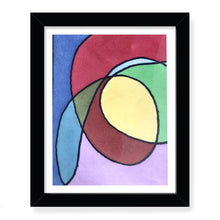 "Load image into Gallery viewer, ""Confussion"" Framed Print"