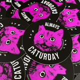 Always Caturday | Sticker