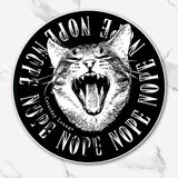 NOPE O' CLOCK | Sticker
