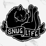 Snug Life House Panther | Sticker