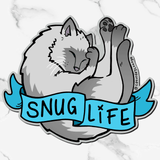 Snug Life Siamese | Sticker