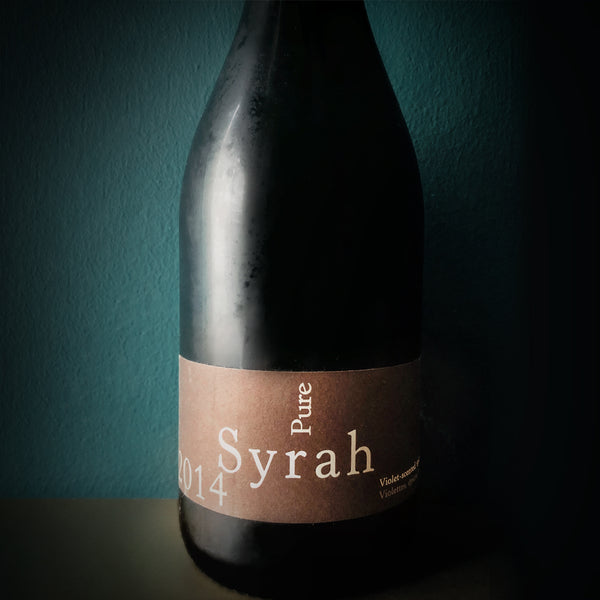 "HOUSE POUR FRENCH RED - VIN DE PAYS D'OC ""PURE"" SYRAH"