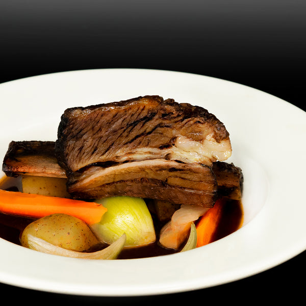 Beef Short Rib | Stewed with Portuguese port wine and root vegetables