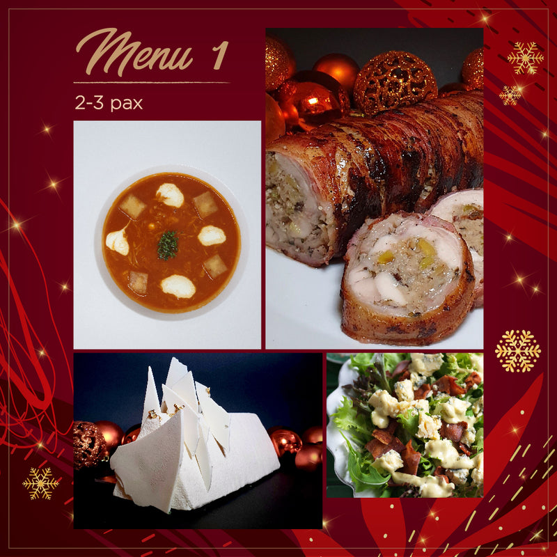 4-Course Holiday Set Menu (2-3 pax)