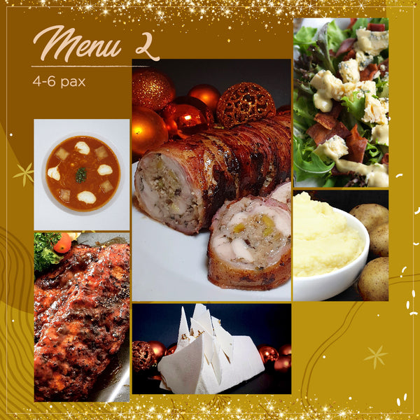 4-Course Holiday Set Menu (4-6 pax)