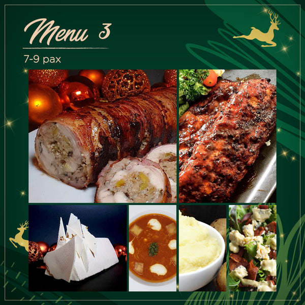 4-Course Holiday Set Menu (7-9 pax)
