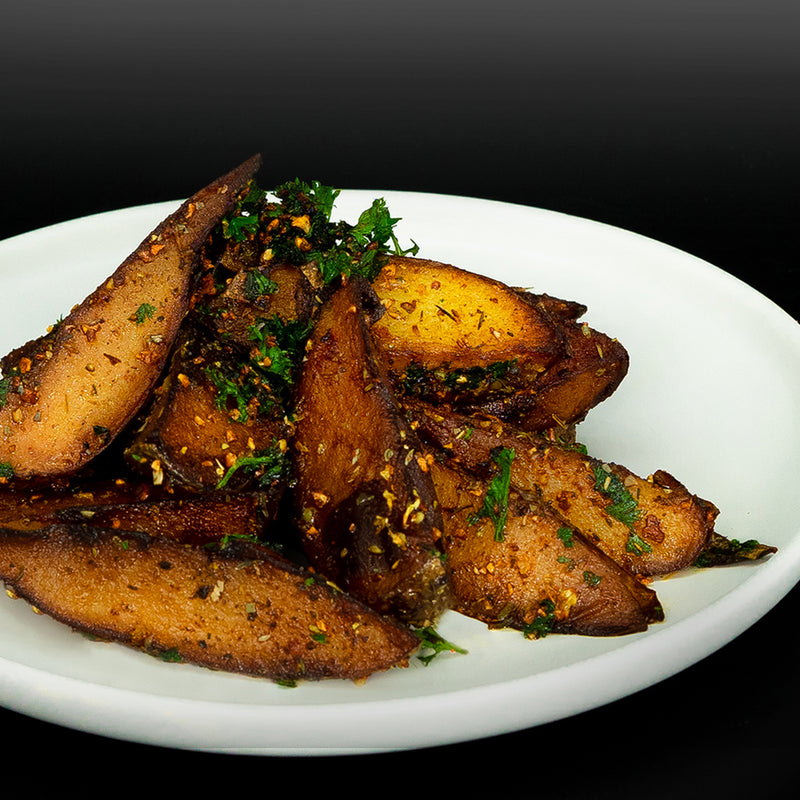 Potato Wedges | Herb & Garlic