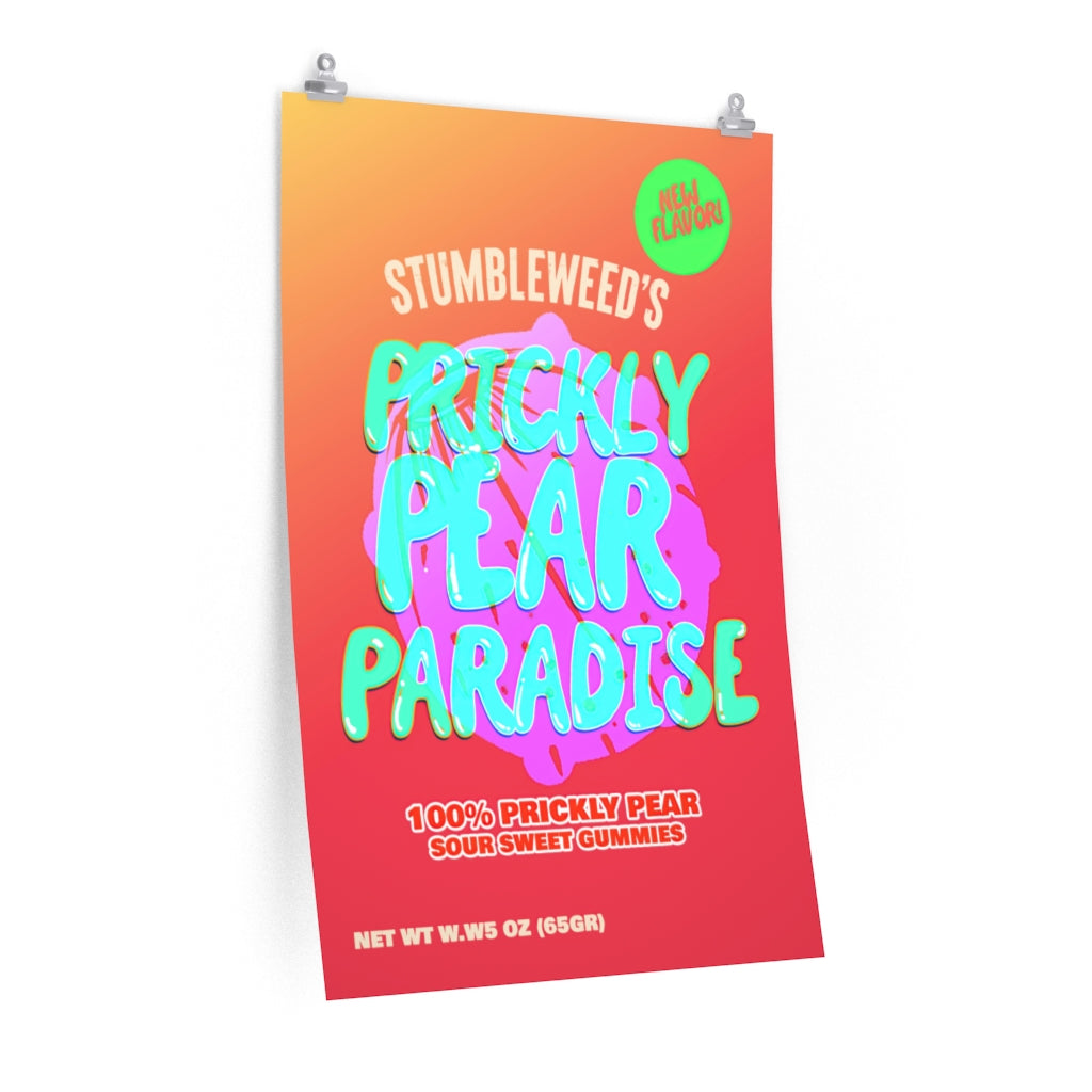 """Prickly Pear Paradise"" - Made by Stumbleweed - R. Ramirez"