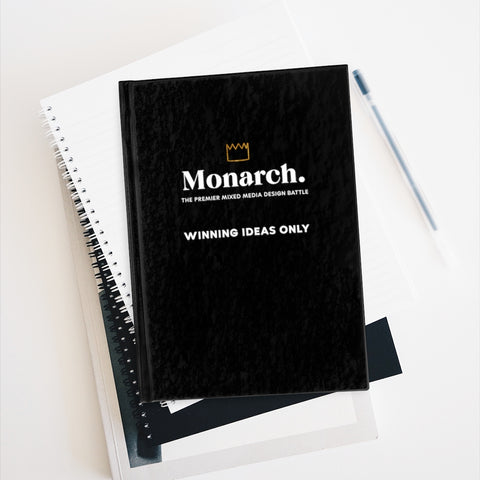 Monarch. Winning Ideas Only Journal - Blank