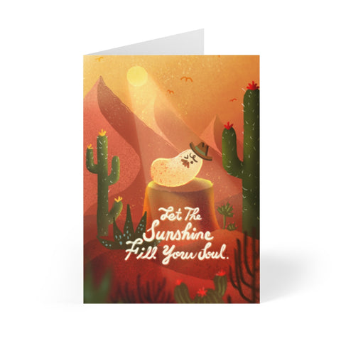 """Hot Red Mesa"" - Made by Stumbleweed - J. Tien - Greeting Cards (8 pcs)"