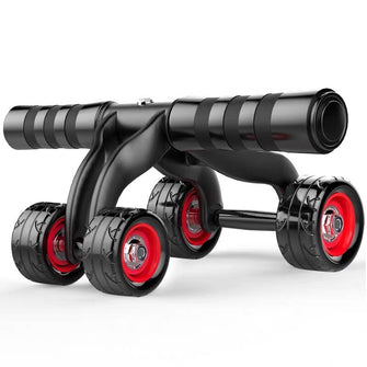 4-Wheel Abdominal Ab Roller Muscle Trainer