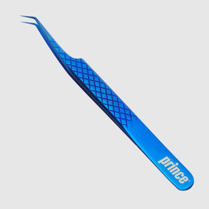 45 Angled Cloudy-Blue Mermaid Tweezer - Princelash