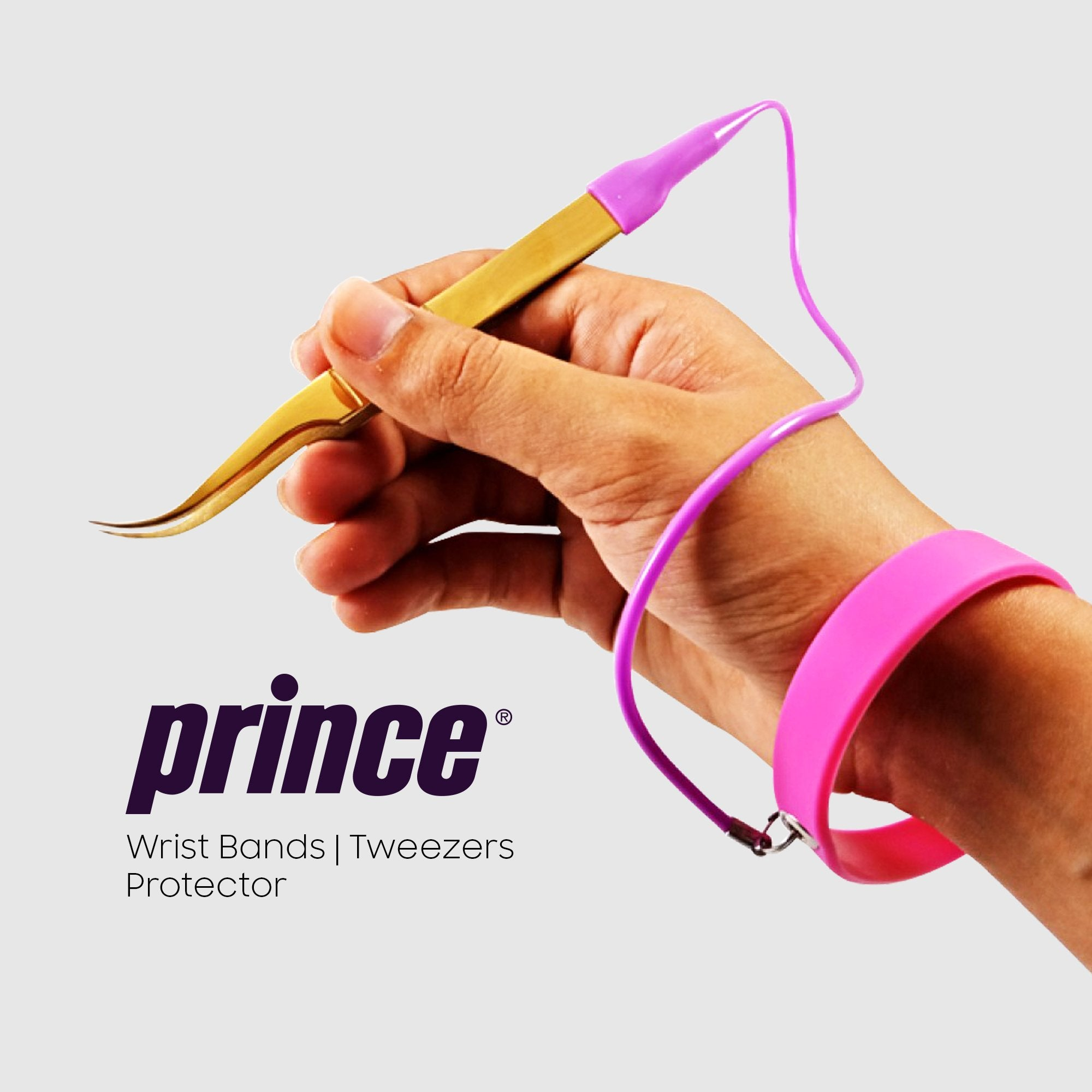 Set of 3 Tweezer Protector Wrist Band - Princelash