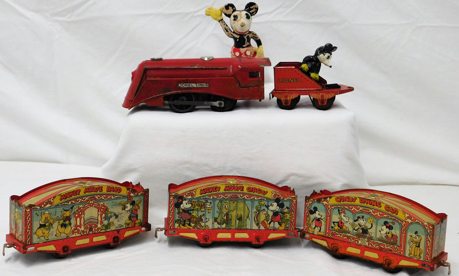 Rare Lionel's 1935 Mickey Mouse Circus Set