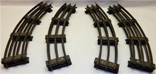 Load image into Gallery viewer, American Flyer Standard Gauge CURVED track Wide gauge Circle EIGHT PCS Prewar
