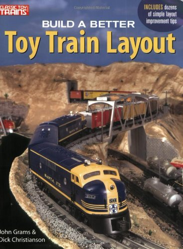 Build a Better Toy Train Layout Classic Toy Trains Books Layouts O gauge S OOP