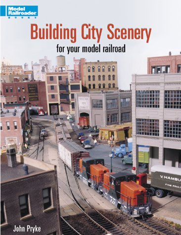 Building City Scenery for Your Model Railroad train book 12204 C10 NEW scenery