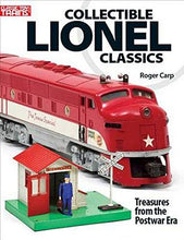 Load image into Gallery viewer, Collectible Lionel Classics by Roger Carp Book Postwar Trains Top 100 #108806 O